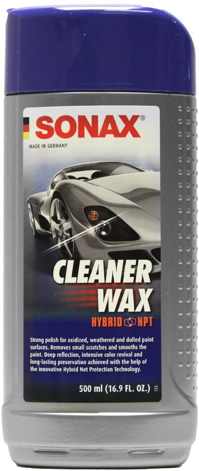 Best Swirl and Scratch Remover Sonax Cleaner Wax bottle