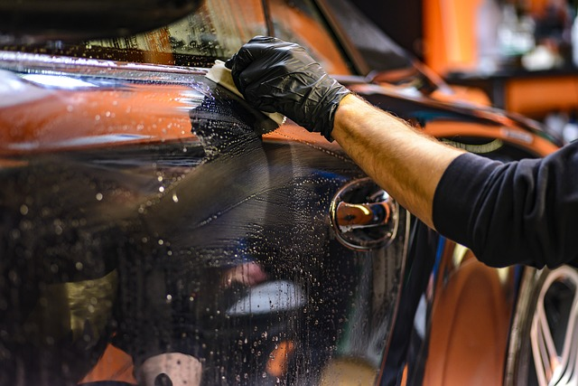 How Often To Polish Car example of car being polished