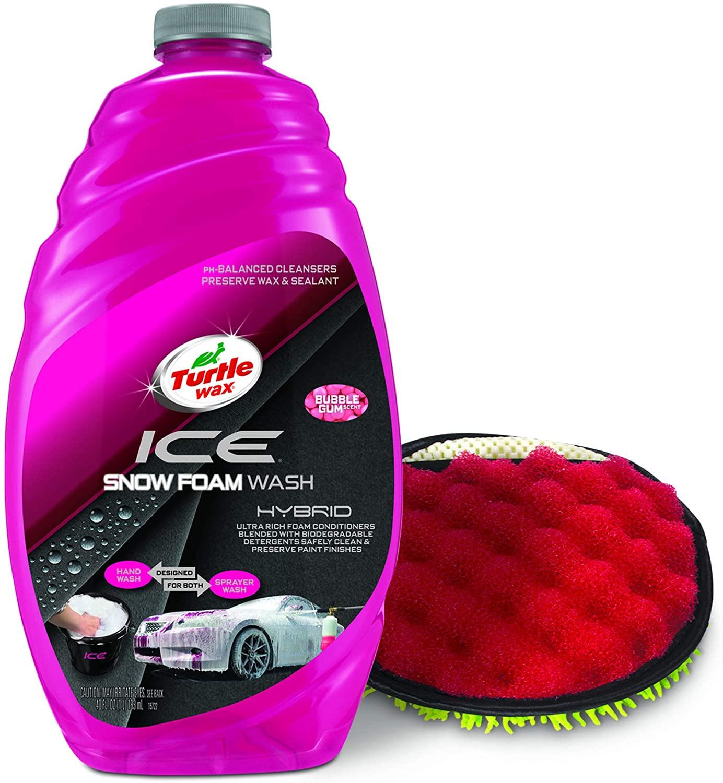 Bottle of Turtle Ice Wax Car Snow Foam