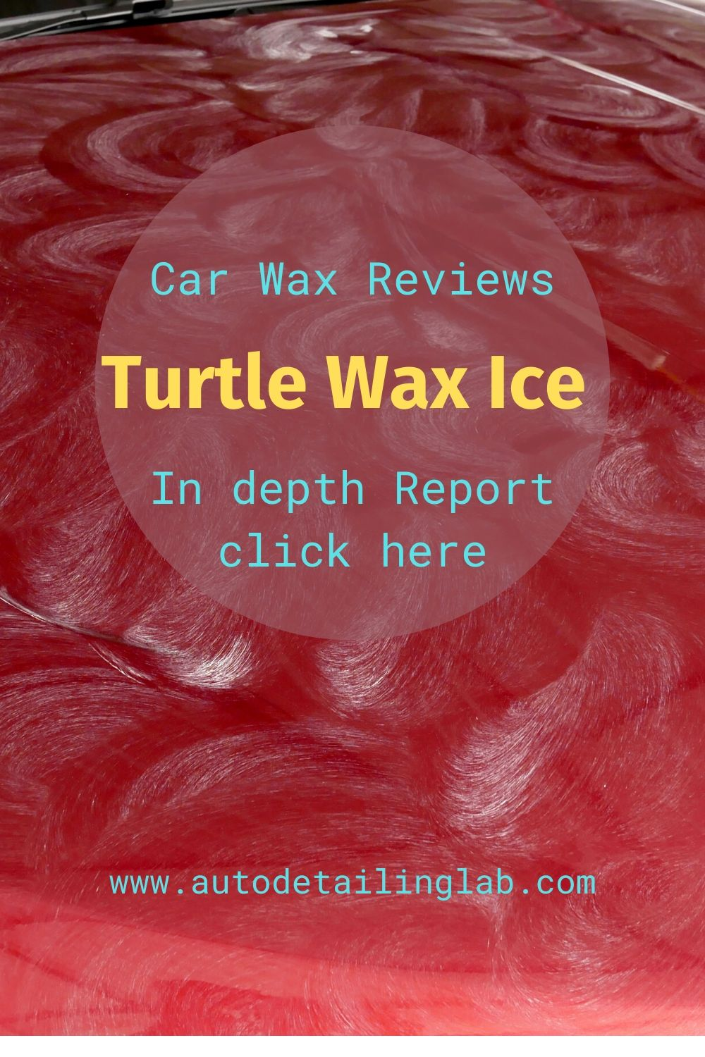 Car Wax Reviews-Turtle Wax Ice Spray Wax